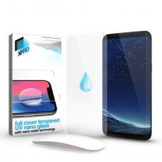 Huawei P30 Full Cover Tempered UV Nano Glass kijelzővédő