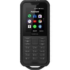 Nokia 800 Tough Dual-SIM Black (NINCS MAGYAR MENÜ!)