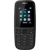 Nokia 105 2019 Dual-SIM Black (NINCS MAGYAR MENÜ!)