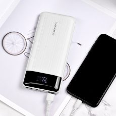 BOROFONE BT21A UNIVERSAL ENERGY 20000 MAH POWER BANK (FEHÉR)