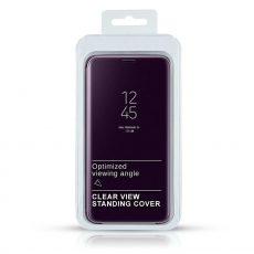 CLEAR VIEW MAPPA TOK SAMUNG A11/M11 PURPLE