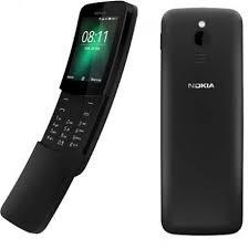 Nokia 8110 Dual-SIM Black (NINCS MAGYAR MENÜ!)