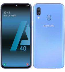 SAMSUNG GALAXY A40 BLUE (HASZNÁLT MOBILTELEFON)