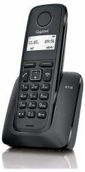 Gigaset A116 vezeték nélküli (DECT) telefon, Fekete